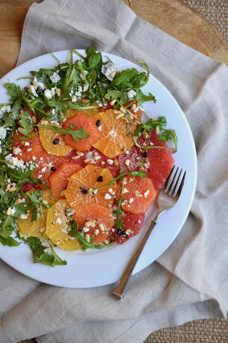 Citrus and Arugula Salad - Glory Kitchen