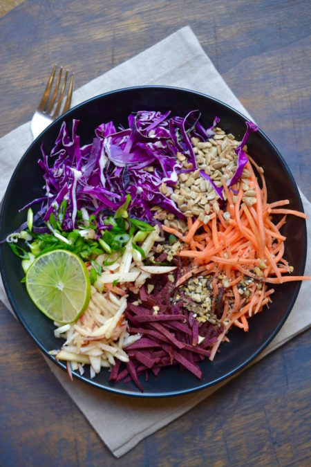 Ruby Asian Slaw - Glory Kitchen